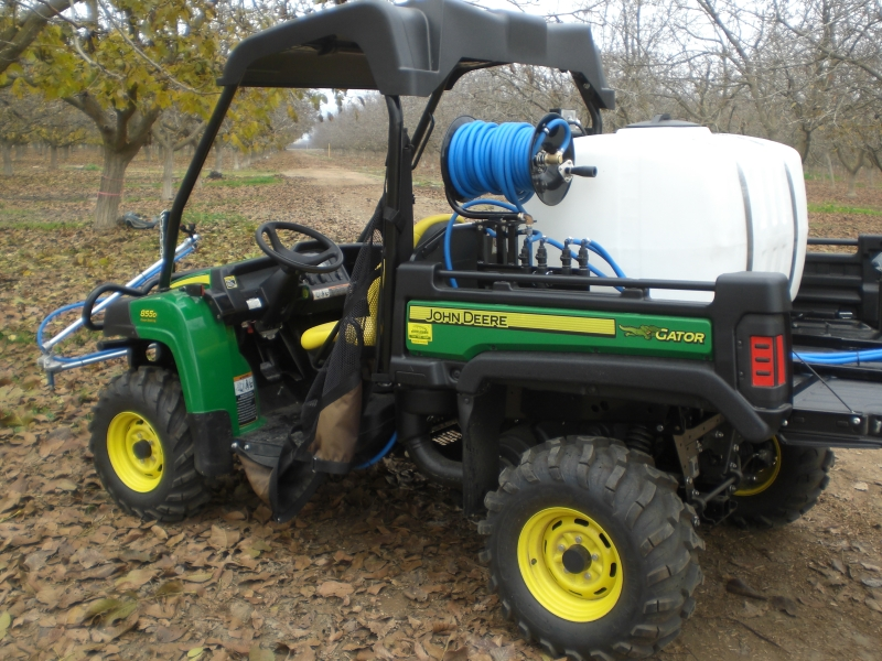 Poly Tank Atv Amp Skid Sprayers Agricultural Spraying Devices