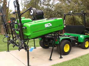 SDI Optimum PG Sprayer on Quick Stand