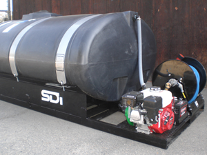 SDI 500 Gallon Poly Tank Sprayer