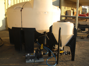 Mixing Injection Machines - Turf Ag Chemical Spraying Devices