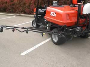 Spraying Device Optimum Turf Booms